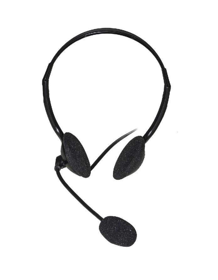Cuffia con microfono connettore jack 2×3,5 mm