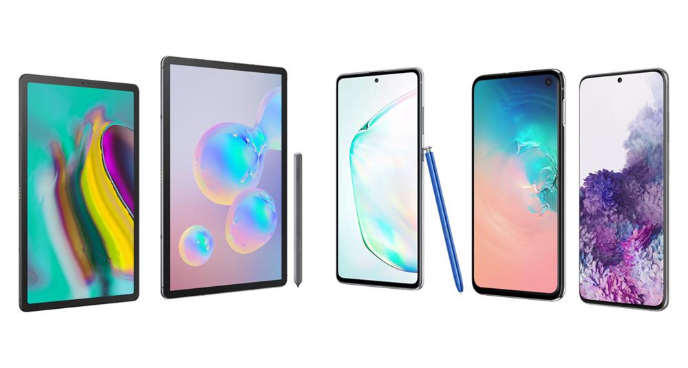 Scegli il tuo Device Samsung