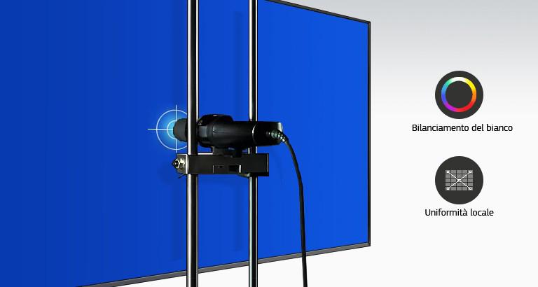 Qualità dell'immagine superlativa mediante calibrazione avanzata di fabbrica