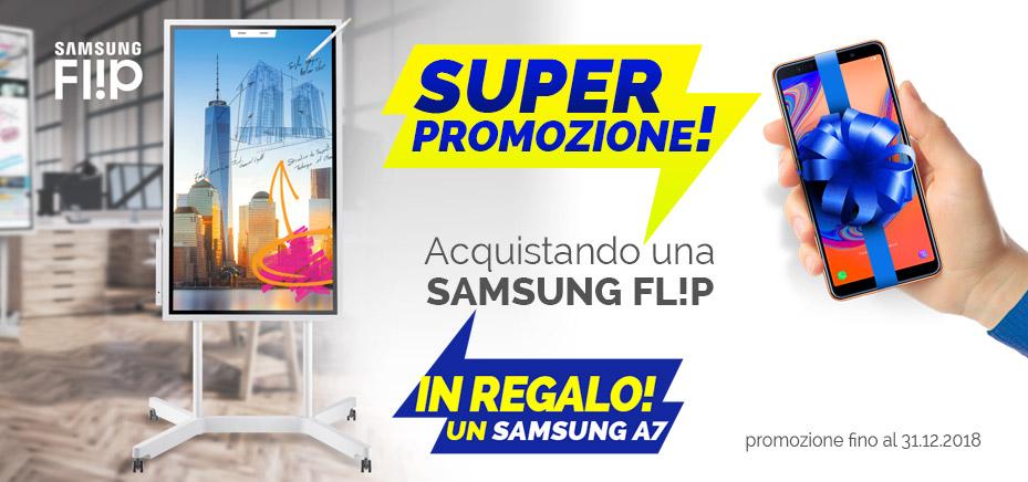 Promozione Samsung Flip