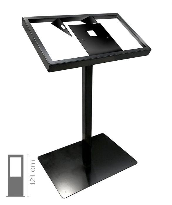 Struttura senza monitor Totem Multimediale Monofacciale Mod. Leggio