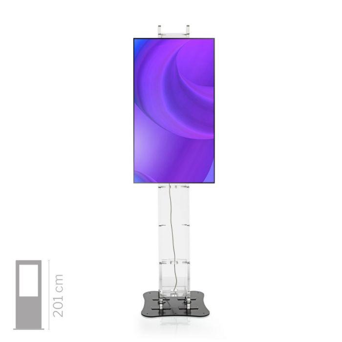 Totem Multimediale 4K Touch screen Mod. Domina 43 TS