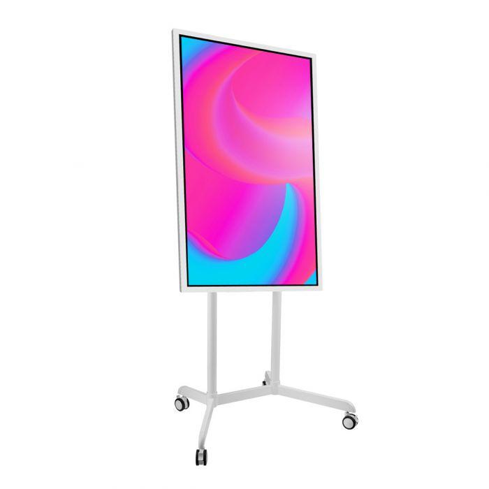 """Lavagna multimediale Samsung FLIP 2 con display da 65"""" completa di carrello white"""