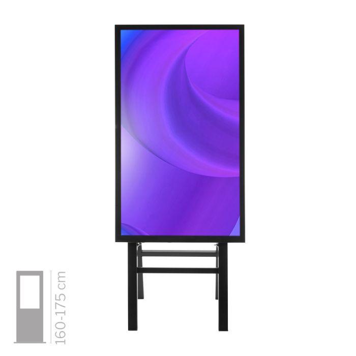 "Totem Multimediale touch screen mod. NewPort 55"" TS"