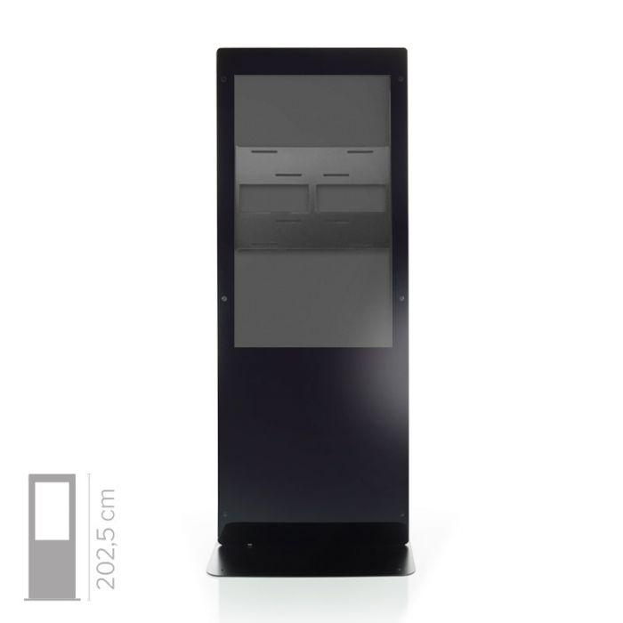 Struttura Totem Multimediale Monofacciale Mod. Newton 50