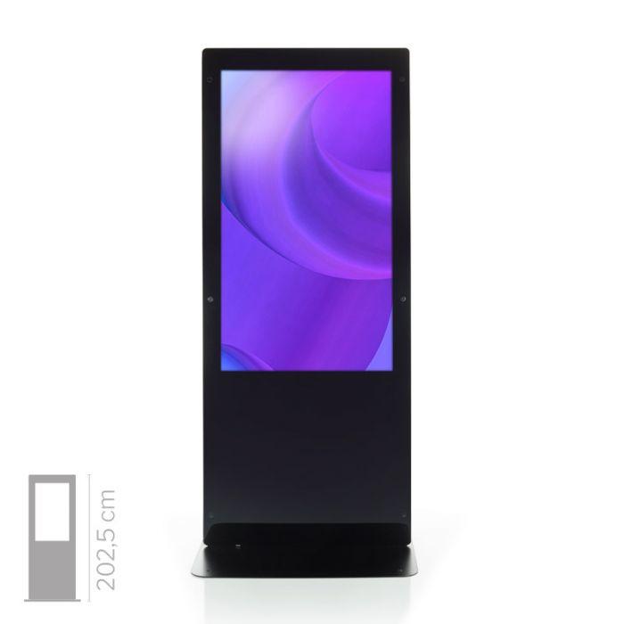 Totem Touch screen 4K Monofacciale Mod. NewTon 55 TS