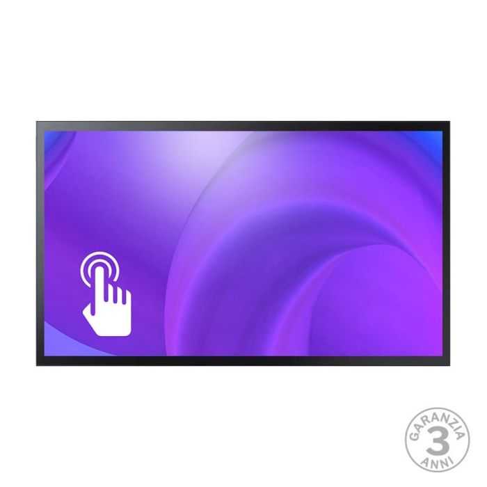 Monitor Led 4K 43 Pollici Professionale Samsung Mod. QM43R-T Touch screen Capacitivo