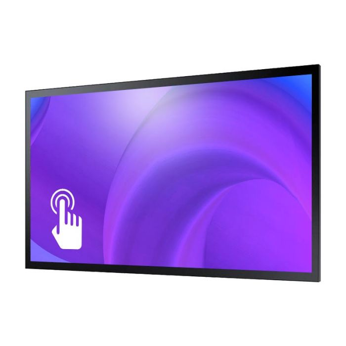 Monitor Led 4K 55 Pollici Professionale Samsung Mod. QM55R-T Touch screen Capacitivo