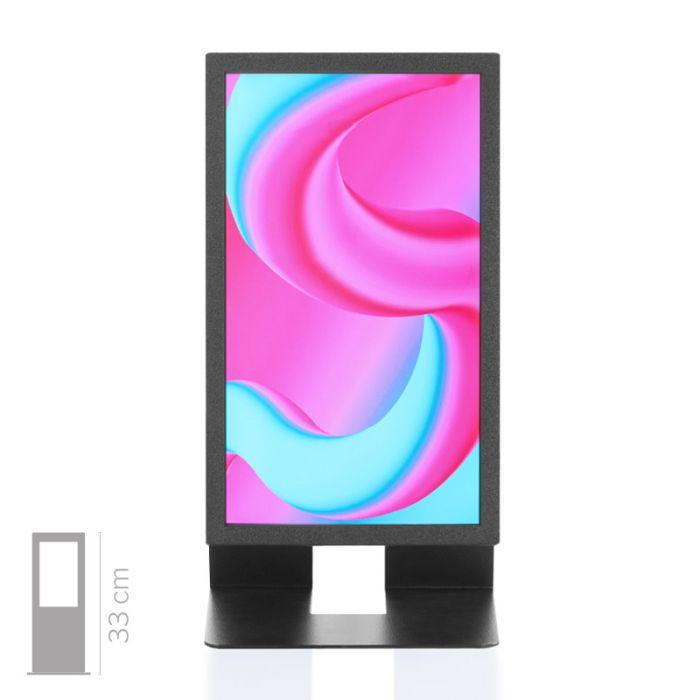 """Soluzione multimediale da banco mod. Space con display da 13"""""""