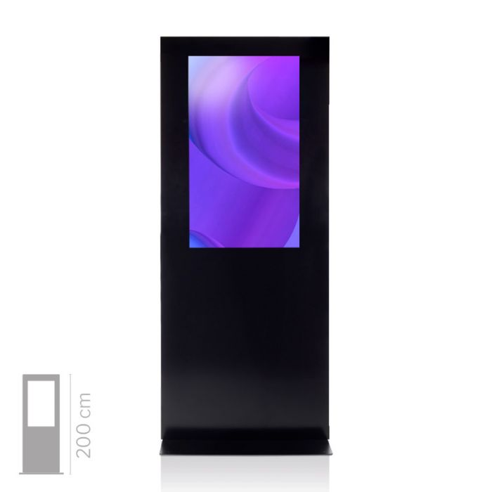 Totem Touch Screen 4K Bifacciale Mod. T43 bif TS