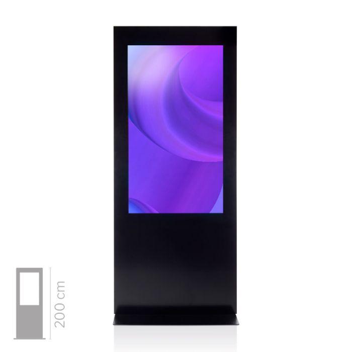 Totem Touch Screen 4K Bifacciale Mod. T55 bif TS