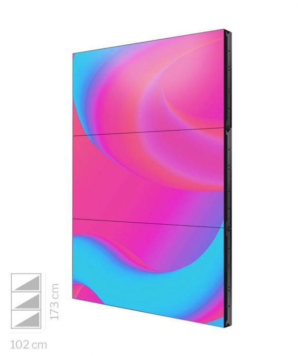 Videowall Samsung 46 pollici VM46T-U 1x3