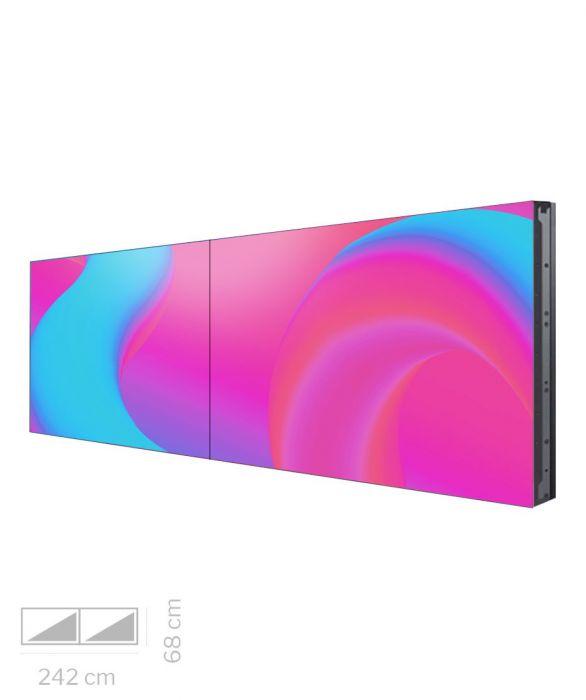 Videowall Samsung Mod. VH55R-R 2x1