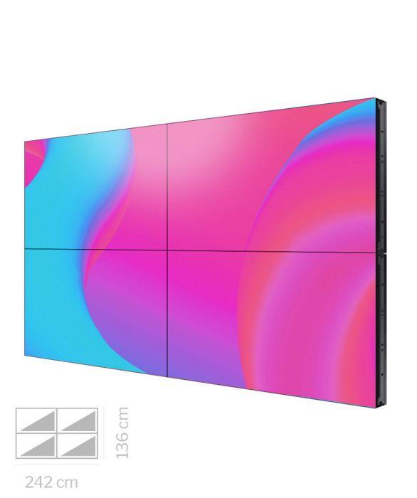 """Videowall Samsung 55"""" Mod. VM55T-U 2x2"""