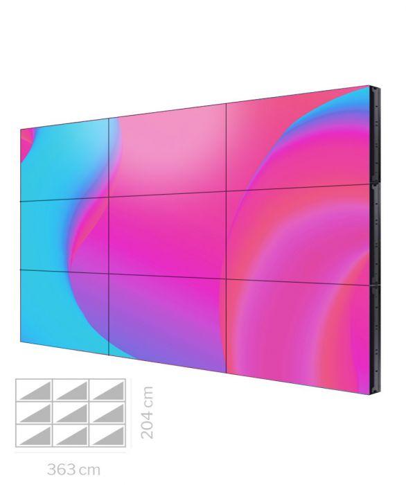 "Videowall Samsung 55"" Mod. VH55T-E 3x3"