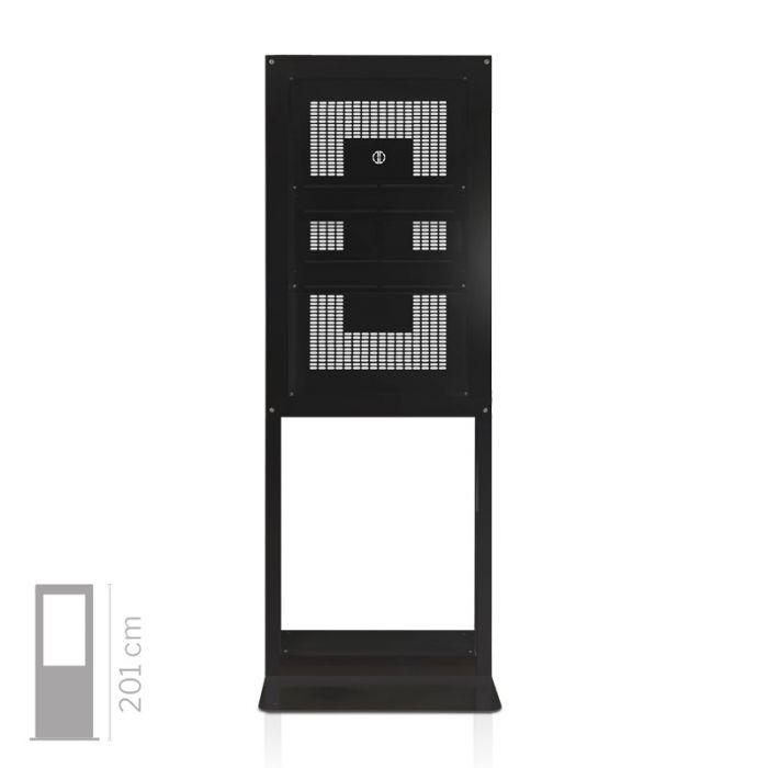 Struttura Totem Multimediale da Vetrina mod. Window 55