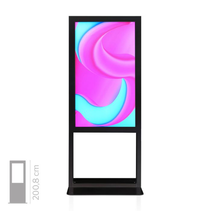 Totem Multimediale da Vetrina mod. Window 55