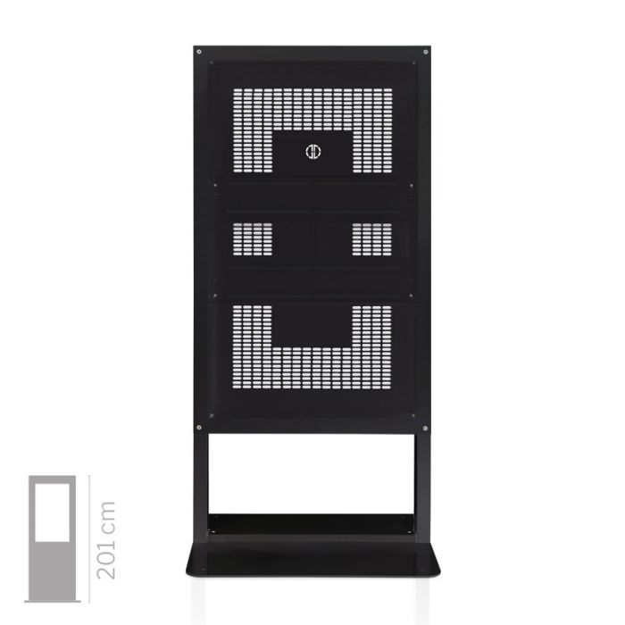 Struttura Totem Multimediale mod. Window 65