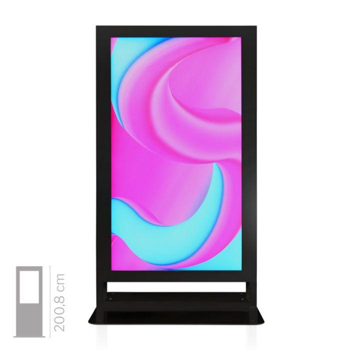 Totem Multimediale da Vetrina mod. Window 75