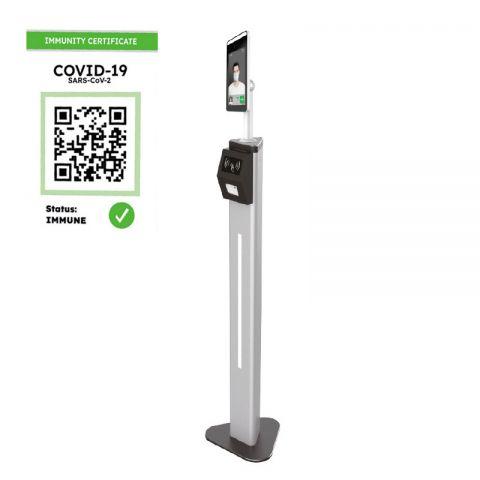Controllo accesso Green Pass - Termocamera Termoscanner (completo di piantana)